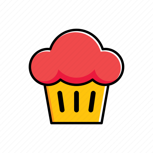 Food, muffin icon - Download on Iconfinder on Iconfinder