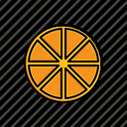 food, orange icon