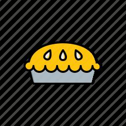 food, pie icon