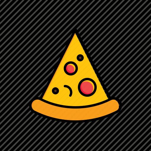 fast food, food, pizza icon