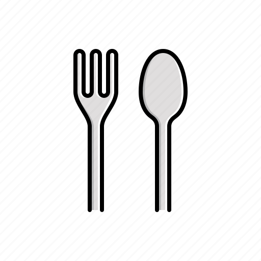 fork, spoon icon