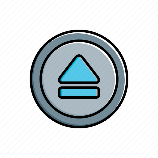 Eject, multimedia icon - Download on Iconfinder