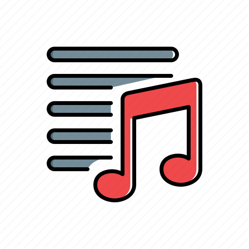 multimedia, playlist icon