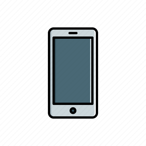 multimedia, smartphone icon