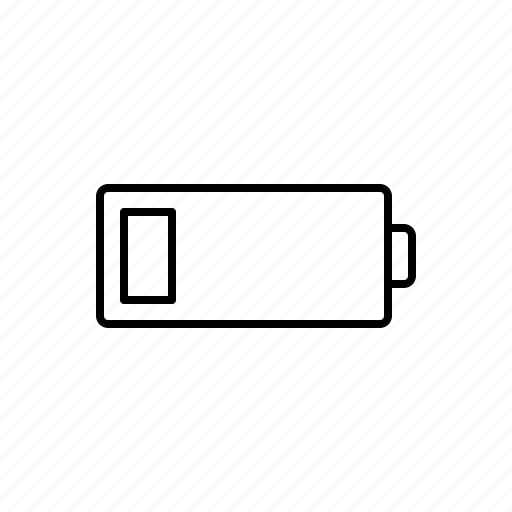 battery, multimedia, warning icon