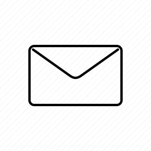 envelope, multimedia icon