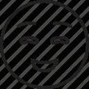emoticon, face, smiley, smiling