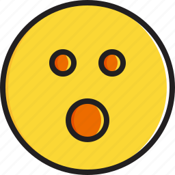 emoticon, face, mouth, open, smiley icon