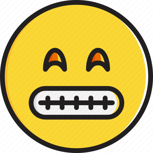 emoticon, eyes, face, grinning, smiley, smiling icon