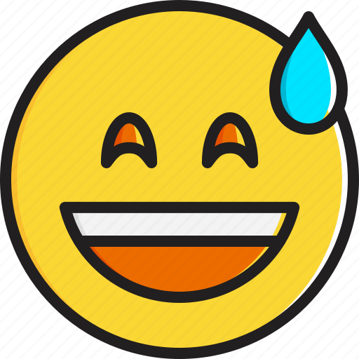 cold, emoticon, face, mouth, open, smiley, smiling icon