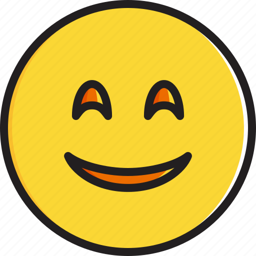 emoticon, eyes, face, smiley, smiling icon