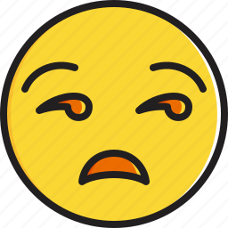 emoticon, face, smiley, unamused icon