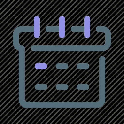 Calendar, date, schedule icon - Download on Iconfinder
