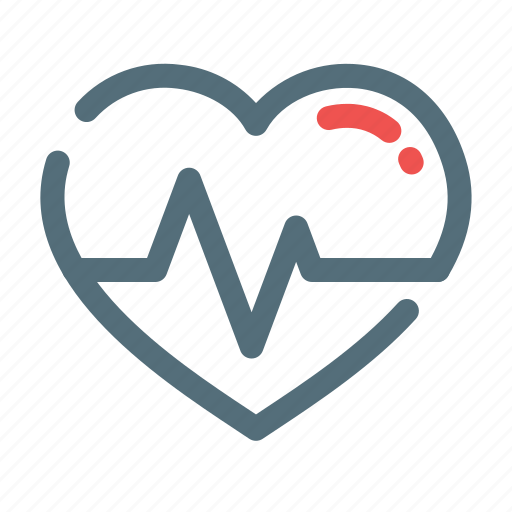 Heart, pulse, rate icon - Download on Iconfinder