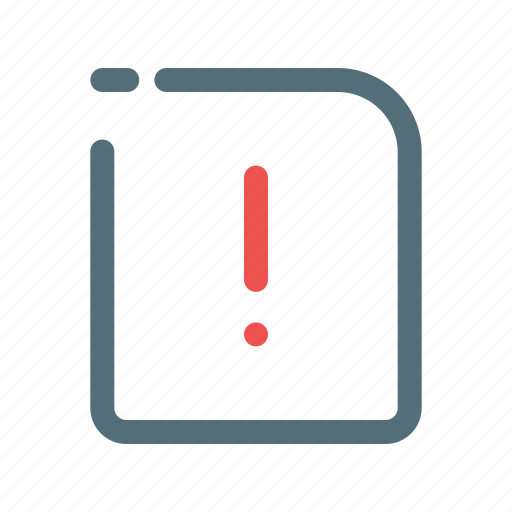 Caution, error, warning icon - Download on Iconfinder