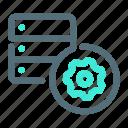 control, database, server, settings icon