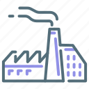 factory, manufacturer, manufacturing icon