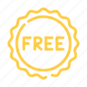 free, offer, promo icon