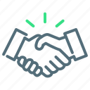 agreement, cooperation, handshake icon