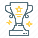 achievement, awards, rewards, trophy icon