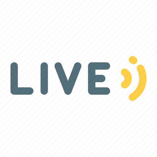 Broadcast, live, streaming icon - Download on Iconfinder