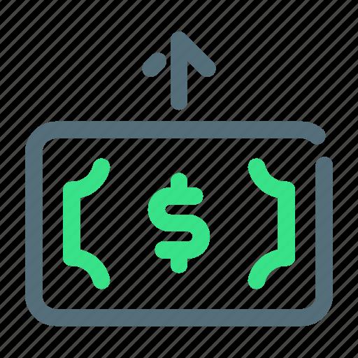 Money, send, transfer icon - Download on Iconfinder