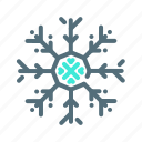 cold, frozen, snowflake, winter icon