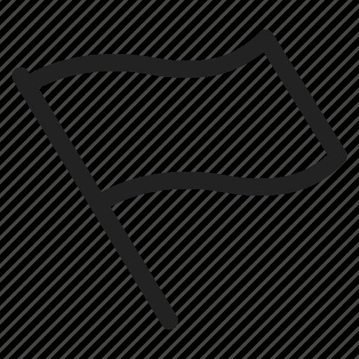 flag, start icon