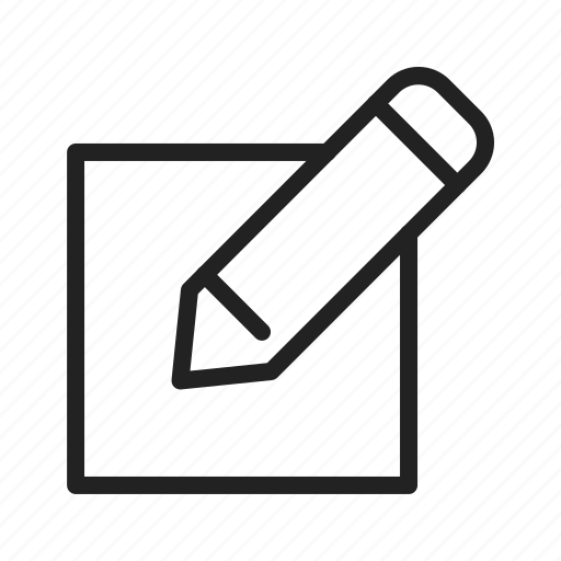 change, edit, pencil icon