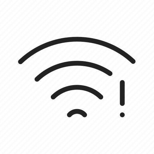 connection, error, network, no, signal icon