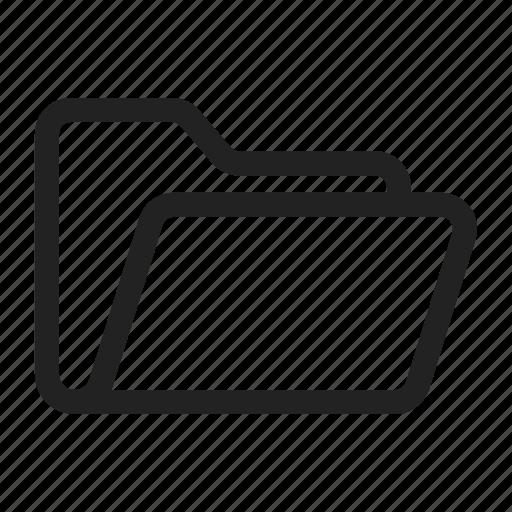 Folder, opened icon - Download on Iconfinder on Iconfinder