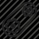 cog, process, run, system icon