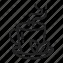 drink, hot, tea icon