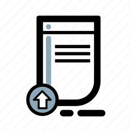 business, document, finance, transaction icon