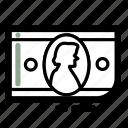 bill, business, dollar, finance, money, transaction