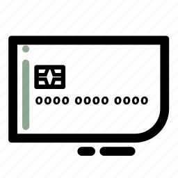 business, card, chip, credit, debit, finance, transaction icon