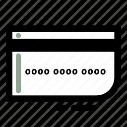 business, card, credit, debit, finance, transaction icon