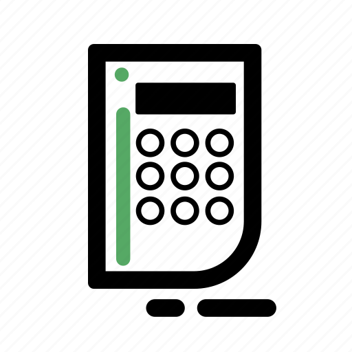 business, calculator, finance, transaction icon