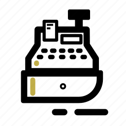 business, checkout, finance, register, sale, transaction icon