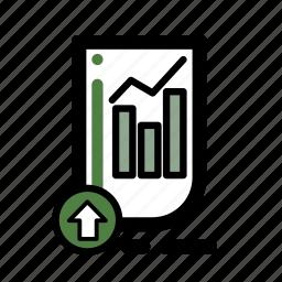 business, document, finance, market, stocks, transaction icon