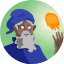 avatar, fantasy, mage, people, roleplaying, spell, wizard icon