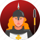 avatar, fantasy, female, guard, people, roleplaying, rpg icon