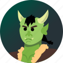 avatar, fantasy, orc, people, roleplaying, rpg icon
