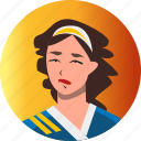 avatar, fantasy, female, martial arts, people, roleplaying, rpg icon