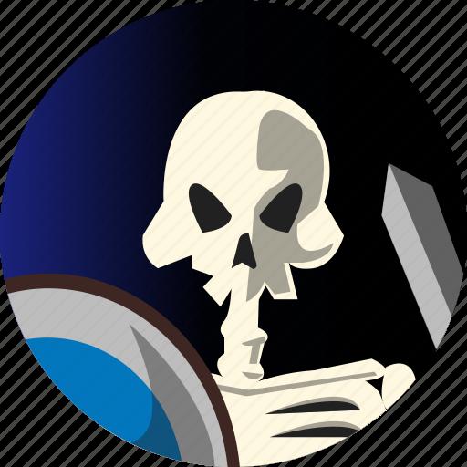 avatar, fantasy, people, roleplaying, rpg, skeleton icon