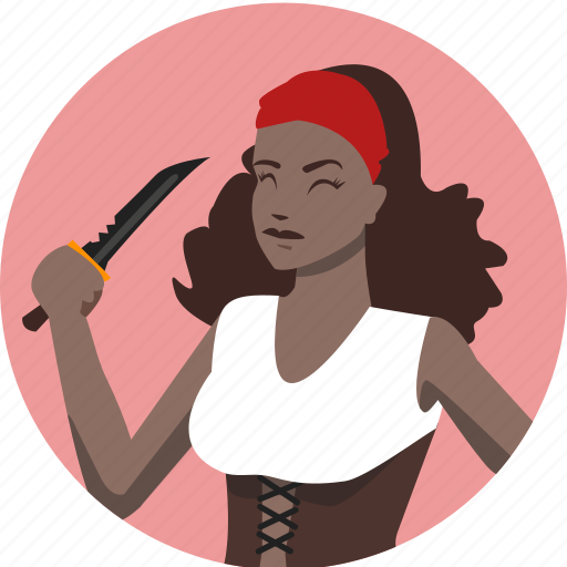 avatar, fantasy, female, people, pirate, roleplaying, rpg icon