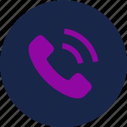 call, calling, phone call, ringing, viber icon