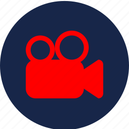 films, movie, video play, video record, youtube icon