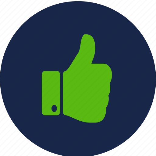 good, like, thumbs up, upvote, vote up icon
