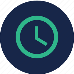 clock, shipping time, time, watch icon